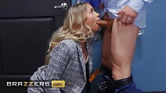 Hot Blonde Secretary Khloe Kapri Pounded Hard By Her Boss