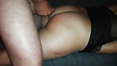 Riding my dildo and cum on my ass!