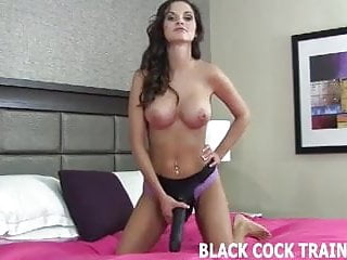 We need new porn We need to train you before you take a big black cock