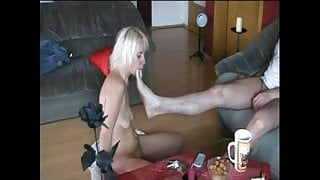 How To Treat Stupid Blonde by Cezar73