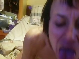 Cum hot woman - Blow job from the hot mama