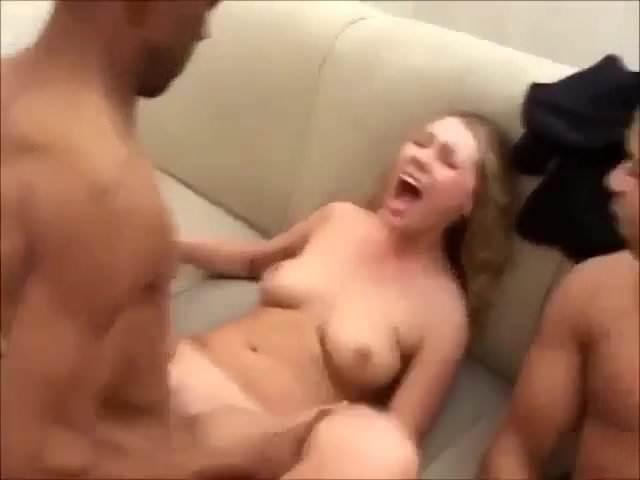White Girl Slurping Bbc