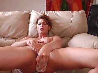 Does dry sex make girls orgasm Huge dildo makes her squirt