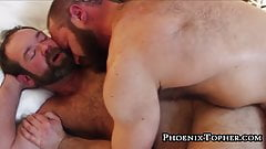Horny bears breeding before that cum is ready to bust out