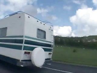 Sex in the van - Hillary in the van