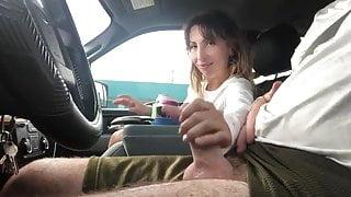 Hot Blowjob in my car