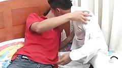 Латиноамериканские твинки Ferdynan и Oscar без презерватива