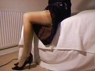 Dressed panty sex Lace dress satin panties