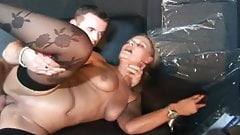 Dutch Blonde Nasty Fantasy 3some Sex Arousement Session