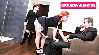 Grandma Catches Grandpa with the Maid