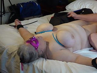 Hard torture on tits 14-sep-2019 mature sub takes hard tit and nipple torture