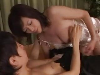 Milf and boy video - Japanese milf and boy