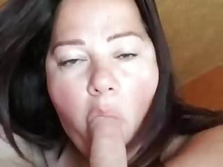 Deep sucking his cock I love sucking his cock