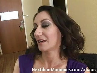 Mature breasts xxx Big breasted mom banged in hotel room