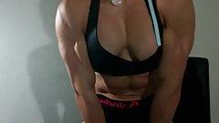 Muscular woman 1