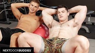 Shredded Workout Buddies Bareback Flip Flops