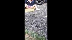masturbation in front of a stranger