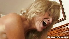 Mature Blonde Cam Ray Do Porn With Young Boyfriend