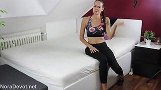 Fitness Coach Creampie - NoraDevot