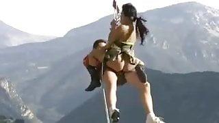 Sex during mountain climbing!