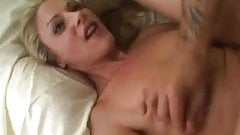 Blonde whore getting a stuffing and it's not Thanksgiving!