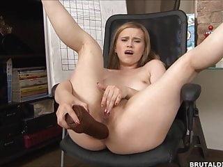 Pussy stretched dildo - Big anal dildos stretching