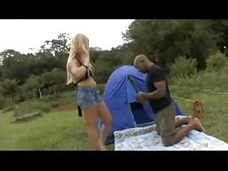 Spanked on a camping trip - Camping trip