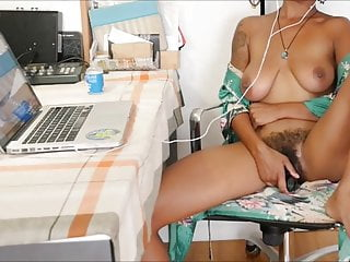 Vintage ladies marquisite watch Tanned busty lady having orgasm while watching porn