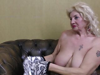 Granny amateur saggy video - Old grandma with big saggy tits and thirsty cunt