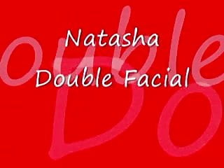 Natasha amateur facial Natasha double facial