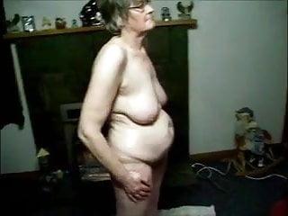 Granny nipples nude - Granny filmed nude