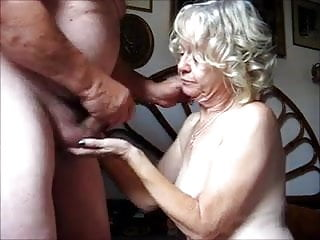 Mature couple blow jobs - Old couple - blow job