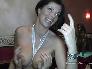Deutsche Reife Creampie Orgie