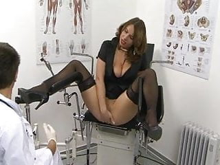 Anal ailment doctors - Euro milf sexy susi gets fixed at the ob doctors office