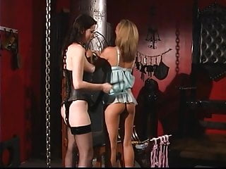 Ass spanking contest - Lesbos seduction and ass spanking