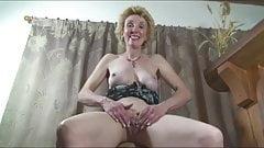 Mature Busty Blonde Milf Pantyhose Play