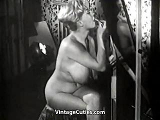 1950s vintage prom dresses Chick with huge natural juggs 1950s vintage