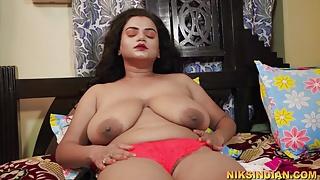 Bade boobs wali Bhabhi ko devar ne jabardast chod diya