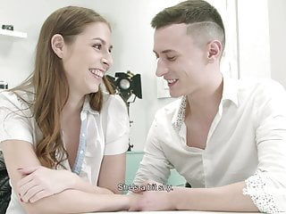 Wifes first 3some Shadyproducer - young czech couple tricked into first 3some