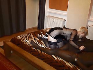 Milf first time lesbian video - German milf - first time dp with 2 bbc