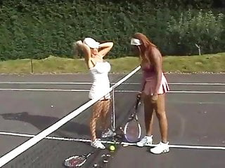 Sexy female tennis players photos Interracial lesbian tennis players