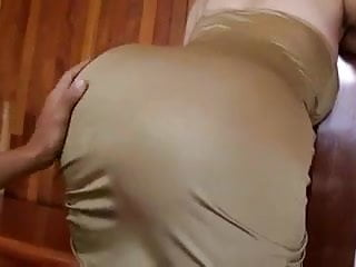 Big round milf ass - Hot and round milf ass for a cock