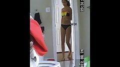 Spy cam hairy teen real