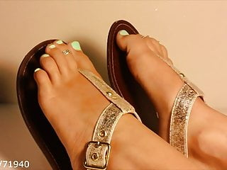 Toes and assholes videos Feet toes and soles up on a table