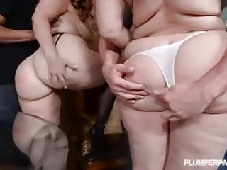 Hot gay big cocks 2 hot curvy babes take big cocks deep in their asses
