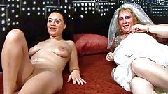 Bridesmaid and Brides group sex