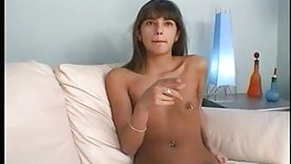 Tiny Girl with Pierced Nipples