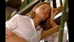 Anja Juliette Laval Sweet Office Girl