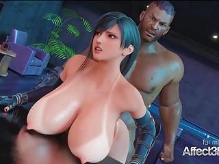 Big tits anime porn
