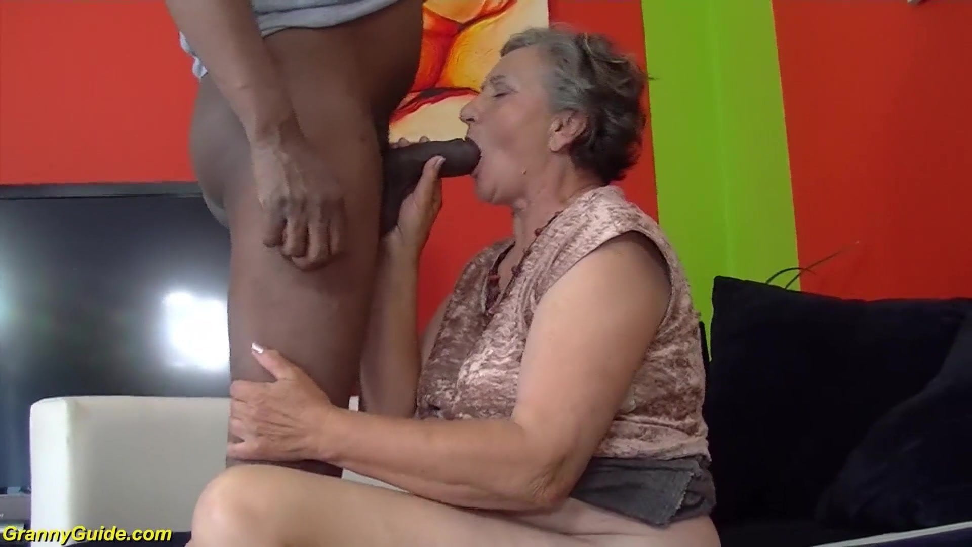 Old Granny Porn Films 80 years old granny first interracial